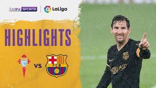Celta Vigo 0-3 Barcelona | LaLiga 20/21 Match Highlights