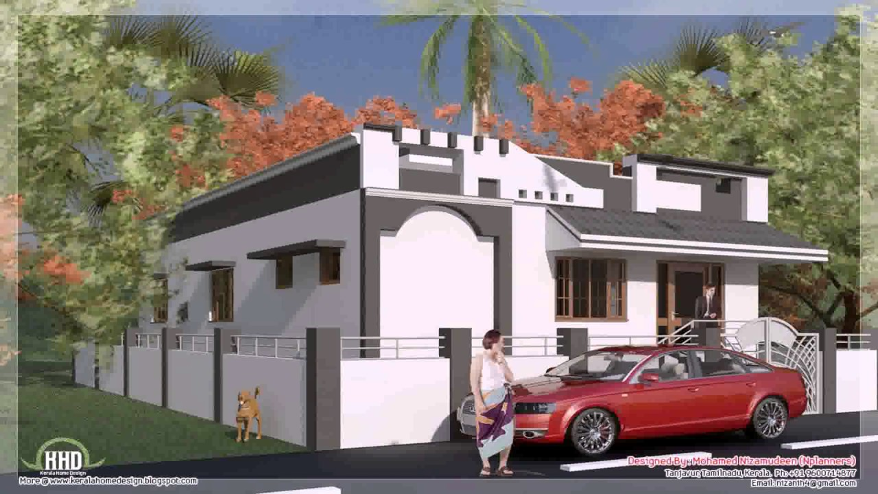 Tamilnadu Style House Plans With Photos - YouTube