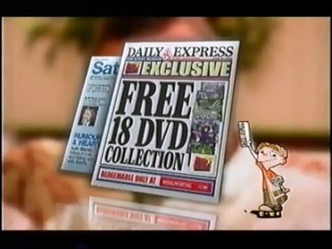 Daily Express Fox Kids DVD UK 2004 Advert