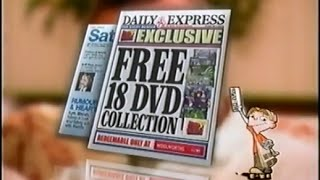 Daily Express Fox Kids DVD UK 2004 Advert