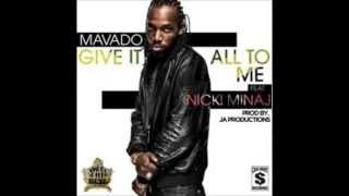 Mavado ft. Nicki Minaj - Give It All To Me (Official Audio)