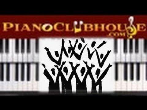 ♫♫ E-Flat Shout Music: BEGINNER CHORDS & TECHNIQUE - gospel piano/organ tutorial ♫♫