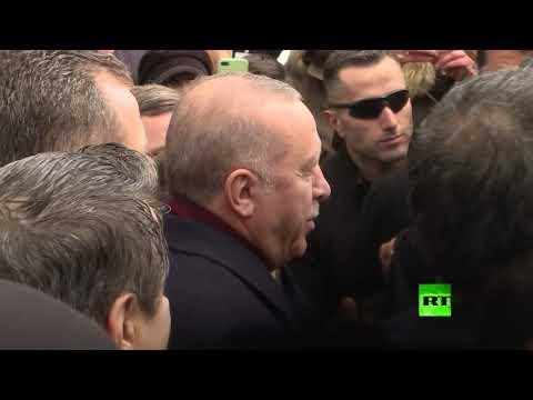 استقبال حار لـ أردوغان وسط برلين  - نشر قبل 2 ساعة
