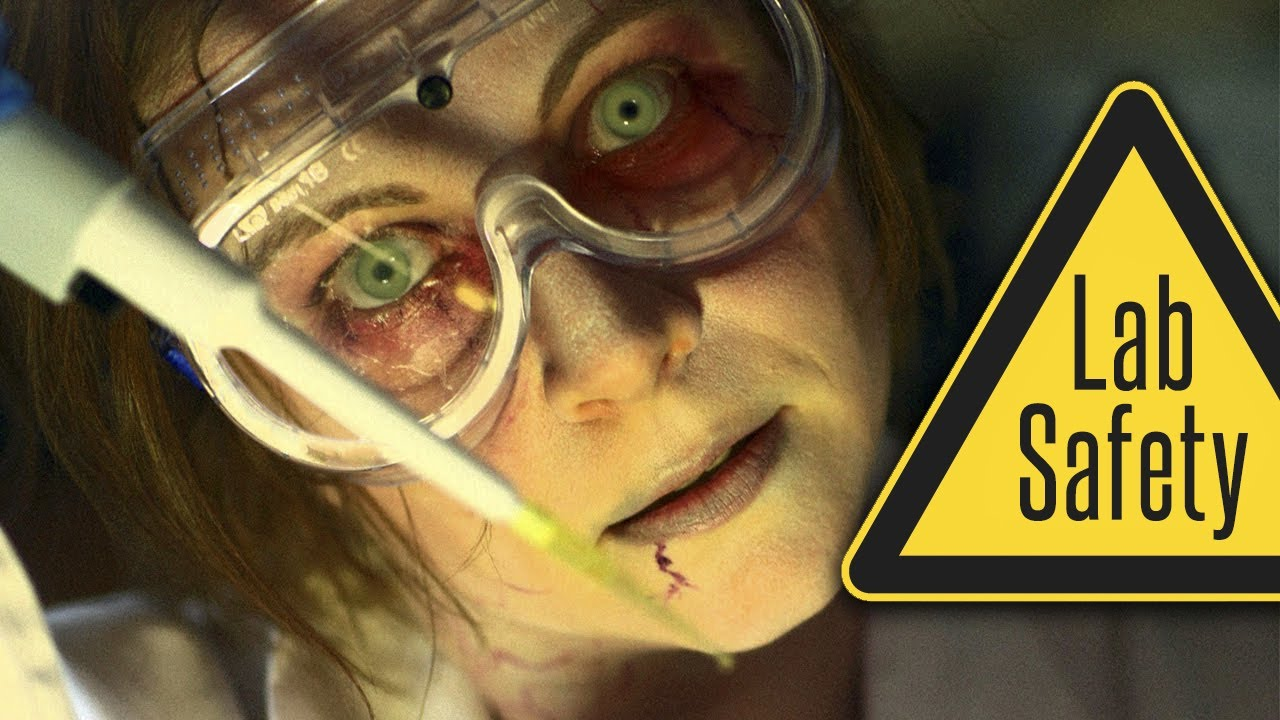 Zombie College The 5 Rules Of Lab Safety Youtube