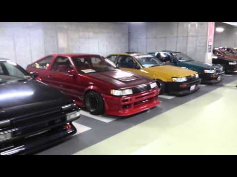 Hardcore Car Show - Akihibara, Tokyo, Japan - Summer of 2015 - Part 1