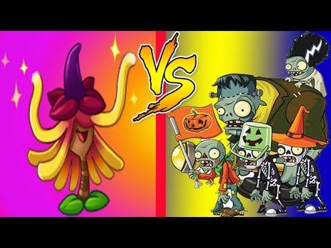 Plants vs Zombies 2 Hard Levels Epic Quest Witch Hazel Premium Plant & Piñata Party