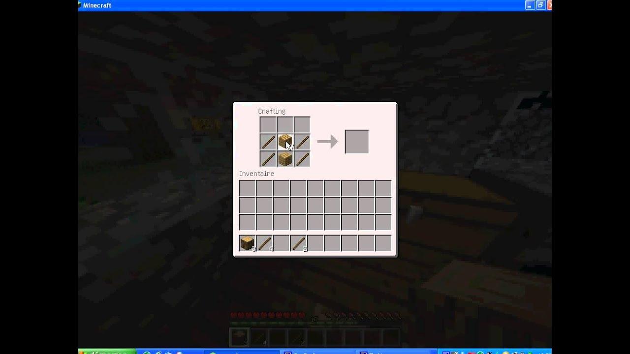 comment faire un portillon sur minecraft  YouTube