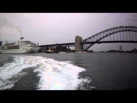 Circular Quay to Watson's Bay, Sydney Harbour Views From The F7 SuperCat, Australia - 23/08/15