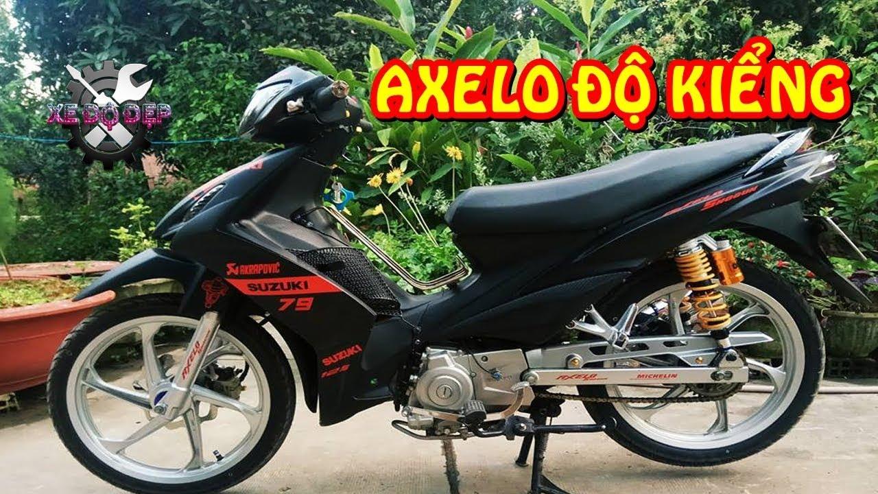 Xe độ đẹp - Axelo 125 độ kiểng chào sân channel