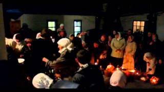 Пасхальное богослужение. Судак 2012(Ночь на 15 апреля 2012. Пасхальное богослужение и обращение игумена Никона к прихожанам в Свято-Покровском..., 2012-04-15T09:47:38.000Z)