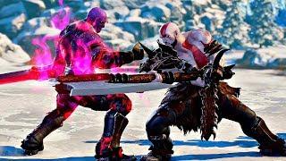 Soul Calibur 6 - Kratos vs Thanos Gameplay (1080p 60fps)