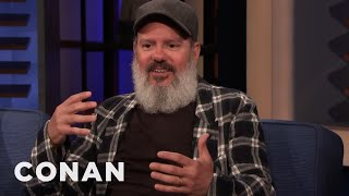 A Security Guard Quit In The Middle Of David Cross's Set - CONAN on TBS