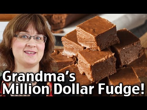 How To Make Grandma's Million Dollar Fudge - BEST Easy Fudge Recipe!