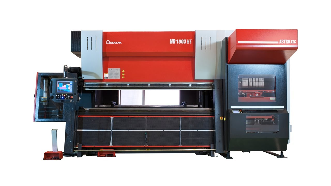 A Closer Look at Our Amada Press Brake | Superior Steel