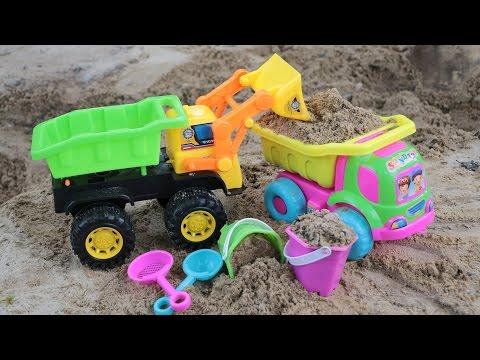 รถตักดิน รถดั้ม บังคับมือ รีวิวตักดิน ดั้มทราย