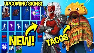 *NEW* 20 Upcoming Fortnite Skins! *CONCEPTS* (Season 8)