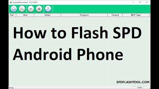 Spd Flash Tool