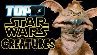 TOP 10 Star Wars Creatures