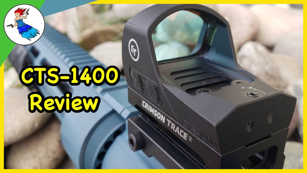 The ONLY Mid Range Red Dot You'll Ever Need? \\ The Crimson Trace CTS-1400 Review
