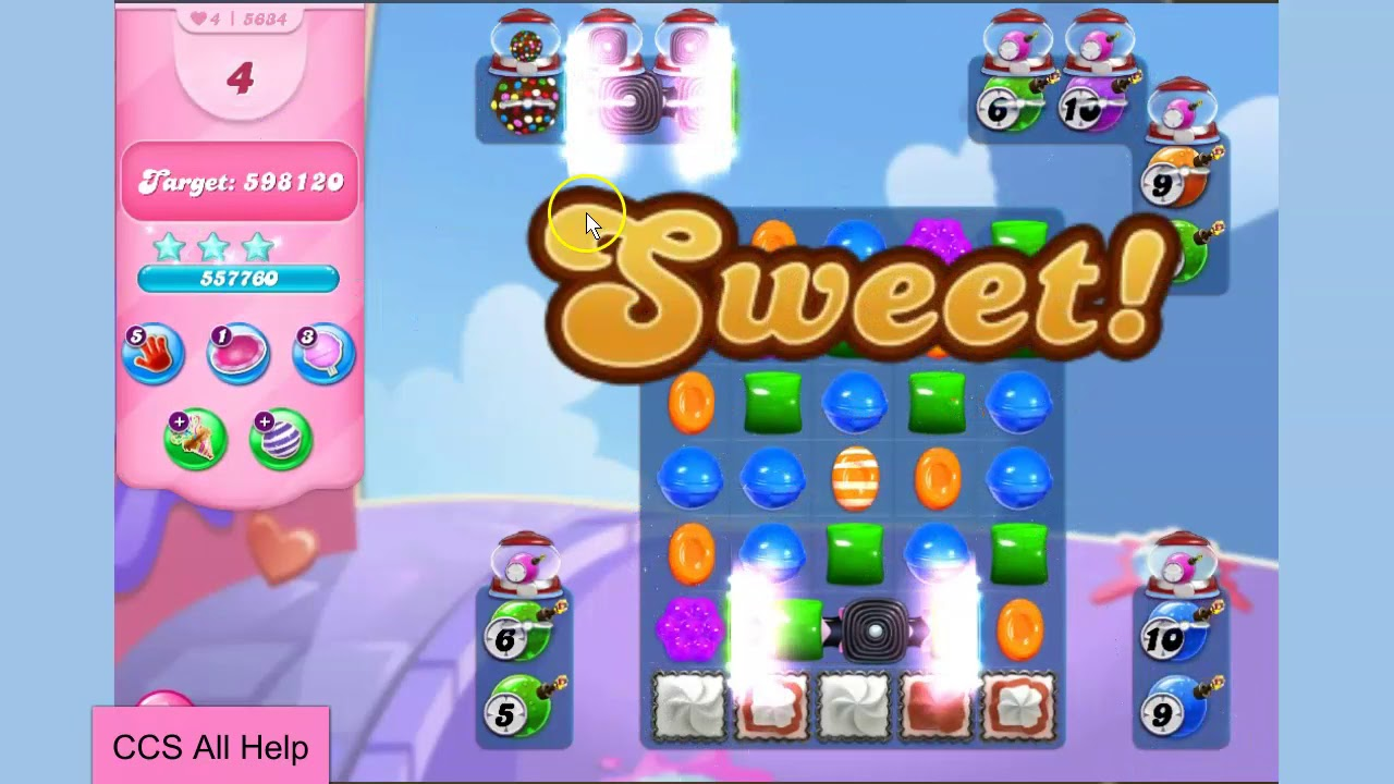 Download Candy Crush Saga Level 5634 NO BOOSTERS Cookie