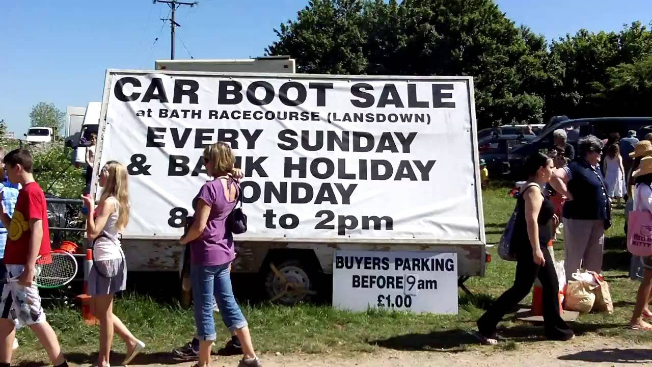 Lansdown Carboot Sale Bath 2010 Youtube