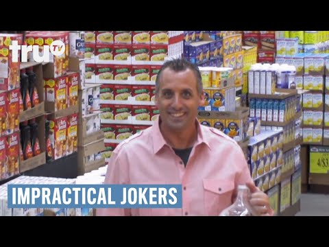 Impractical Joker - Hold My Poison? | truTV