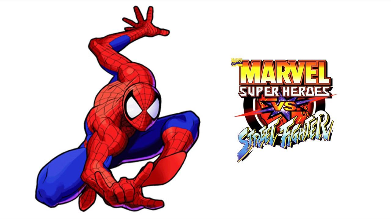Marvel Super Heroes Vs Street Fighter Spider Man Theme