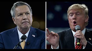 John Kasich's 5 Reasons That 'Prove' Trump's Unfit to Be President