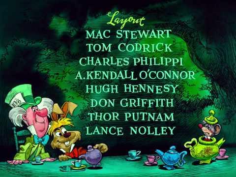 Bonus Alice In Wonderland1950Beginning Credits