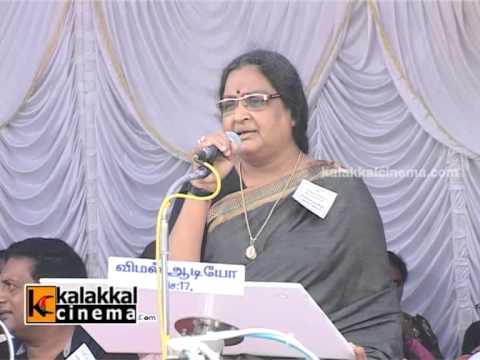 Vadivukkarasi and Vinu Chakravarthy at Tamil Film Industry Protest Against Sevice Tax