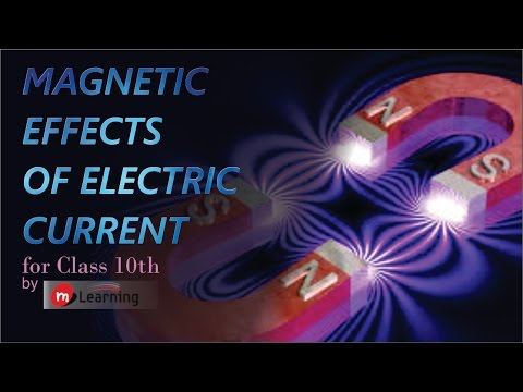 Magnetic effect of current : Magnetic Field & Earth's magnetism - 01 For Class 10th