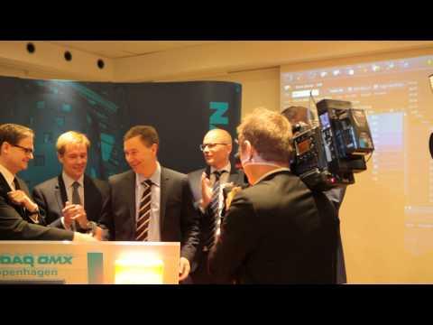 OW Bunker listing ceremony at NASDAQ OMX Copenhagen