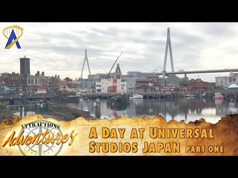Attractions Adventures - 'A Day at Universal Studios Japan: Part One' - March 24, 2017