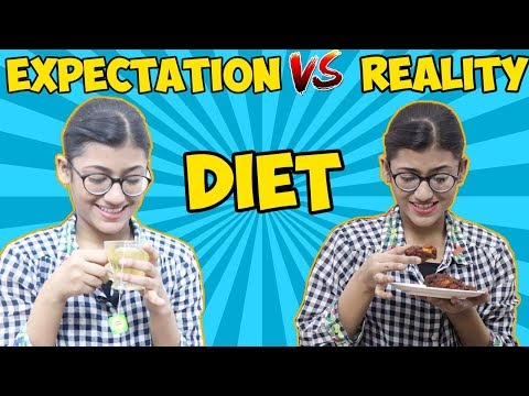 People on Diet : Expectation VS Reality | SAMREEN ALI
