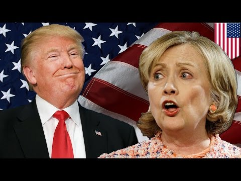 Trump vs Hillary: Trump and Clinton are neck-and-neck in the battleground states