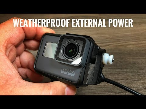 Weatherproof External Power for GoPro Hero 5/6/7 | X~PWR-H5