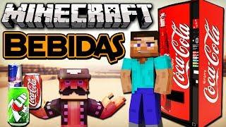 Minecraft: SUPER BEBIDAS - Mine Cola, Red Cow, Club Soda