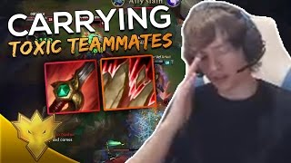 Meteos CARRIES TOXIC TEAMMATES - Meteos Stream Highlights & Funny Moments