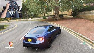 Subaru BRZ - Forza Horizon 4 | Logitech g29 gameplay