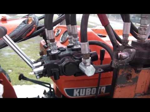 kubota loader valve