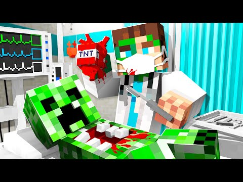 Stealing MOB PARTS to UPGRADE in Minecraft!