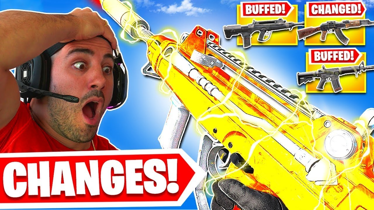 HUGE Weapon Changes in Warzone Season 4! 🤯 (BUFFS AND NERFS)
