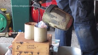 Metal Casting at Home Part 58. Brass Flywheel