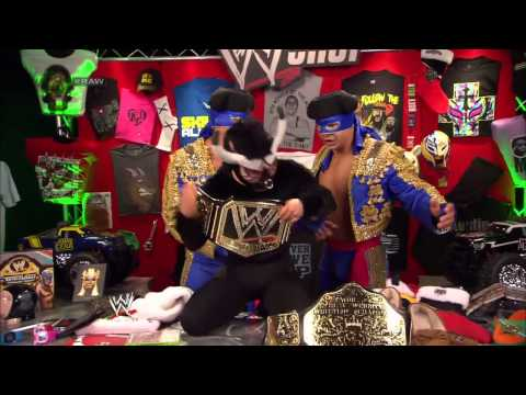 Los Matadores and El Torito encourage the WWE Universe to visit WWEShop.com: Raw, Dec. 2, 2013