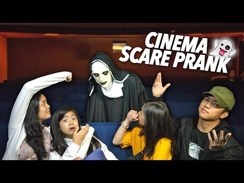 Cinema Scare Prank On Siblings | Ranz and Niana