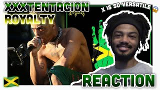 ‪XXXTENTACION - Royalty (feat. Ky-Mani Marley, Stefflon Don & Vybz Kartel‬) (Reaction)