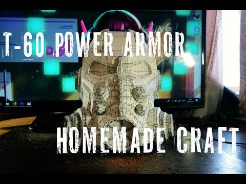 Шлем силовой брони fallout 4 своими руками