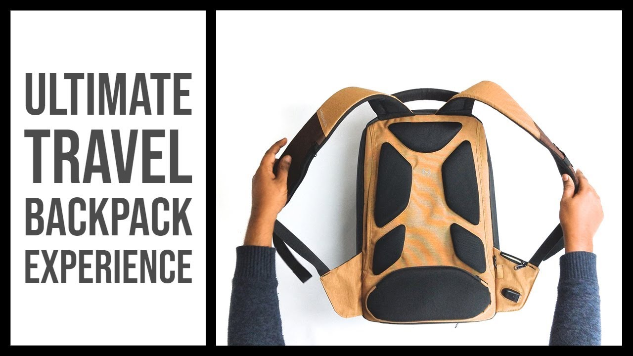 Most Functional Neweex Travel Backpack Reviewed - YouTube e9175ebcb7588