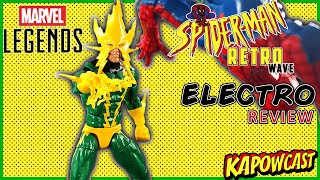 MARVEL LEGENDS RETRO SPIDER-MAN WAVE ELECTRO REVIEW