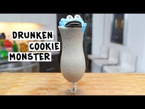 The Drunken Cookie Monster Cocktail